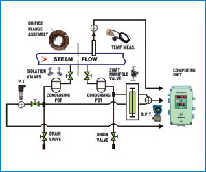 Gas and Steam flow meters (GFM)